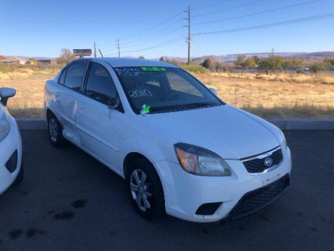 2010 White KIA RIO Base (KNADH4A35A6) , located at 1865 East Red Hills Pkwy, St. George, UT, 84770, (435) 628-0023, 37.120850, -113.543640 - Photo #0