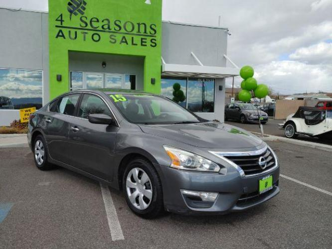 2015 Brilliant Silver Nissan Altima 2.5 S (1N4AL3AP9FC) with an 2.5L L4 DOHC 16V engine, Continuously Variable Transmission transmission, located at 1865 East Red Hills Pkwy, St. George, UT, 84770, (435) 628-0023, 37.120850, -113.543640 - Photo #0