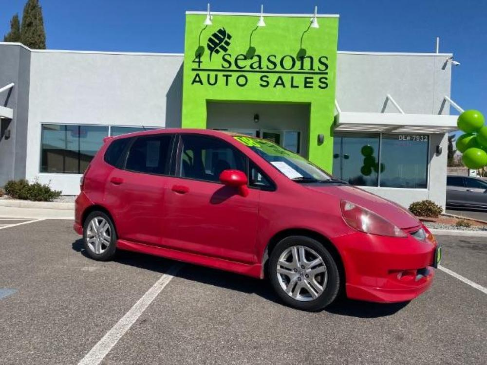 2008 Milano Red /Black Cloth Interior Honda Fit Sport 5-Speed MT (JHMGD37678S) with an 1.5L L4 SOHC 16V engine, 5-Speed Manual transmission, located at 1865 East Red Hills Pkwy, St. George, UT, 84770, (435) 628-0023, 37.120850, -113.543640 - Photo #0