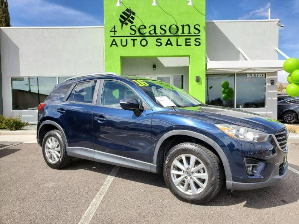 2016 Blue /Black, premium cloth Mazda CX-5 Touring AWD (JM3KE4CY5G0) with an 2.5L L4 DOHC 16V engine, 6-Speed Automatic transmission, located at 1865 East Red Hills Pkwy, St. George, UT, 84770, (435) 628-0023, 37.120850, -113.543640 - Photo #0