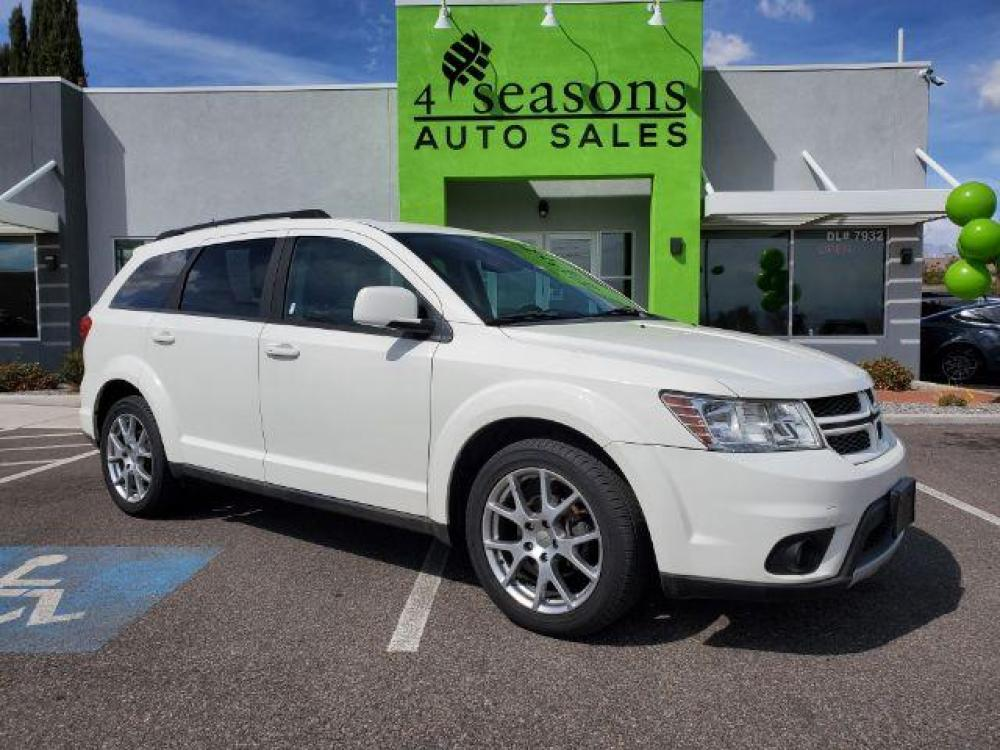 2012 White /Black/Red Cloth Interior Dodge Journey R/T AWD (3C4PDDEGXCT) with an 3.6L V6 DOHC 24V engine, 6-Speed Automatic transmission, located at 1865 East Red Hills Pkwy, St. George, UT, 84770, (435) 628-0023, 37.120850, -113.543640 - Photo #0