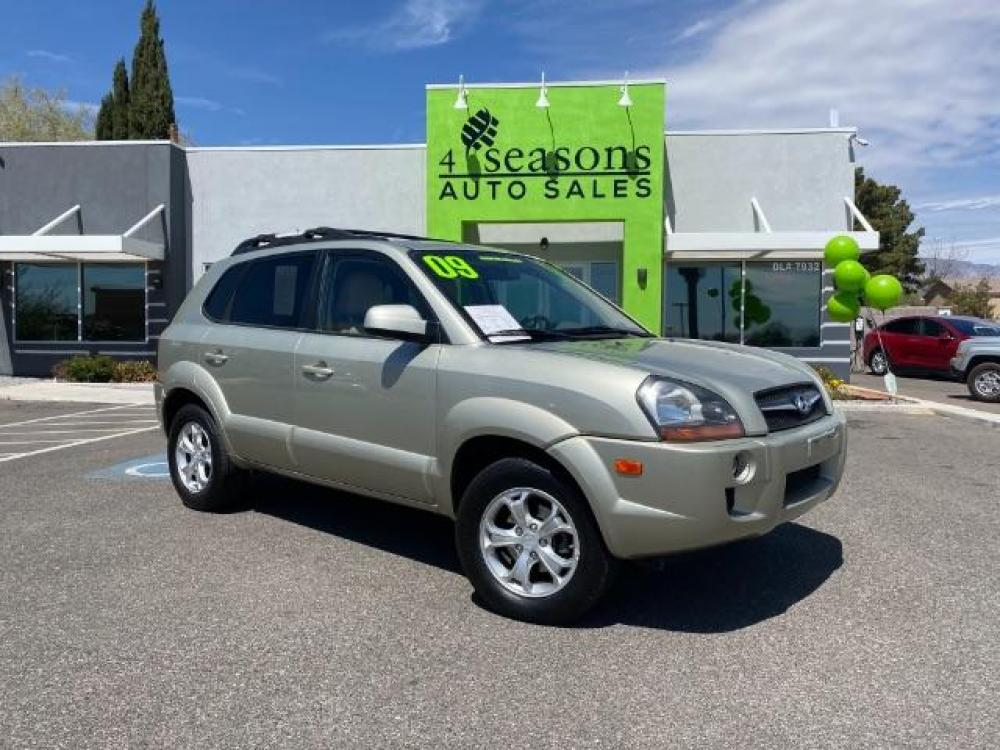 2009 TAN /Beige Leather Interior Hyundai Tucson Limited 2.7 4WD (KM8JN72D19U) with an 2.7L V6 DOHC 24V engine, 4-Speed Automatic transmission, located at 1865 East Red Hills Pkwy, St. George, UT, 84770, (435) 628-0023, 37.120850, -113.543640 - Photo #0