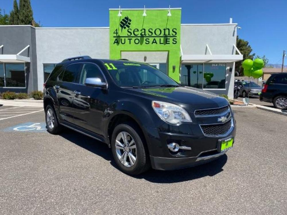 2011 Black Granite Metallic Chevrolet Equinox 2LT AWD (2CNFLNEC2B6) with an 2.4L L4 DOHC 16V engine, 6-Speed Automatic transmission, located at 1865 East Red Hills Pkwy, St. George, UT, 84770, (435) 628-0023, 37.120850, -113.543640 - Photo #0